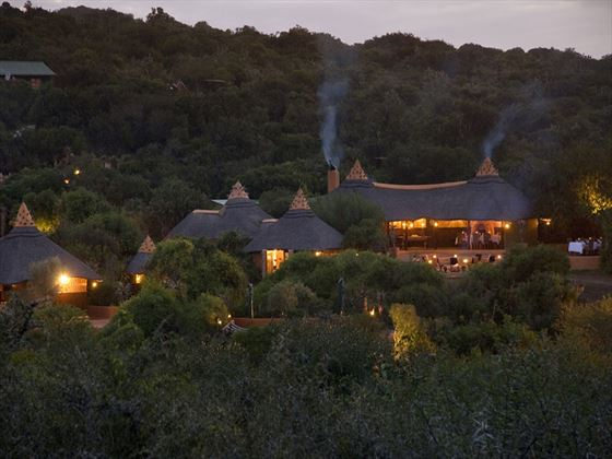 Overview of Amakhala Safari Lodge