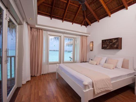Over Water Suite Bedroom