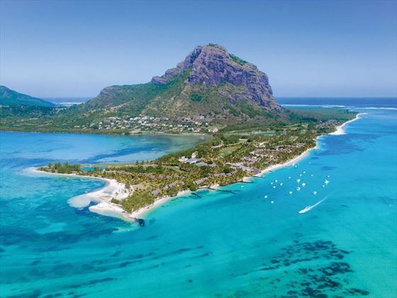 Paradis Beachcomber Golf Club on Le Morne Peninsula
