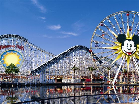 Paradise Pier at Disney Californina Adventure Park
