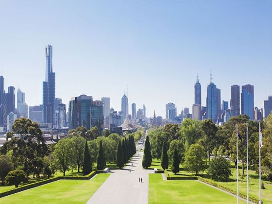 Park in Melbourne