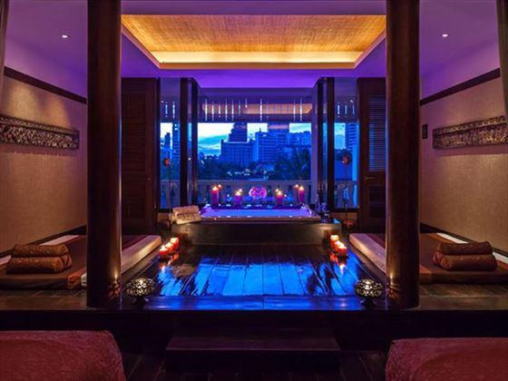 Spa Private Treatment Room with River View at The Peninsula, Bangkok