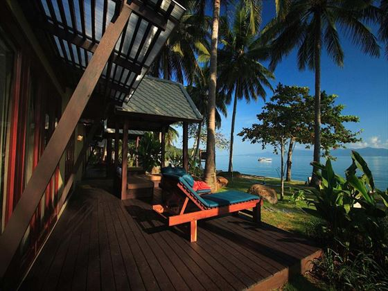 Peace Resort Samui Beachfront Villa Deck