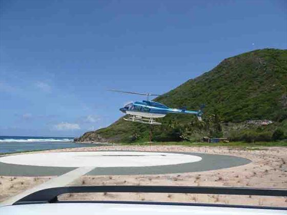 Choose to arrive on Peter Island in style