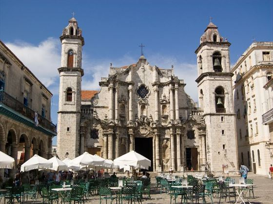 Plaza de la Catedral in Havana