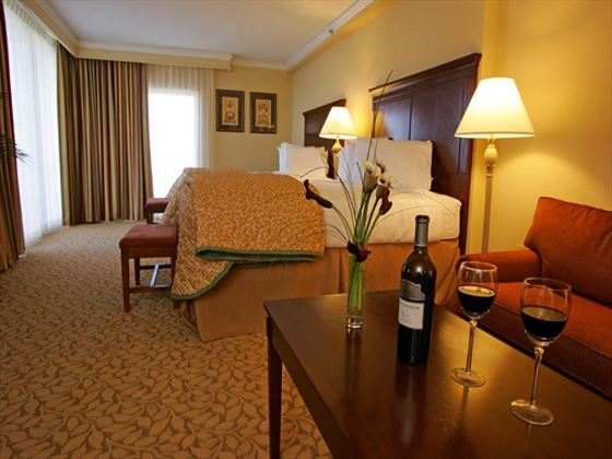 Plaza Resort and Spa suite