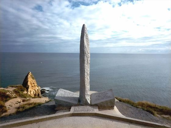 La Pointe du Hoc Ranger Memorial Normandy