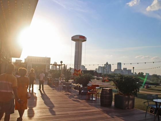 The Ponce City Market Rooftop, Atlanta