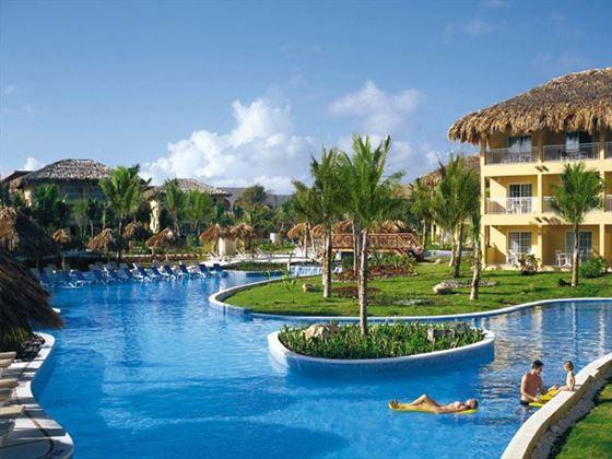 Pool area at Dreams Punta Cana