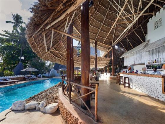 Pool bar at Sandies Mapenzi Beach Club