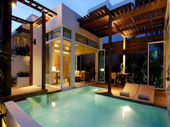 Pool villa private pool at Aleenta Phuket - Phang Nga Resort and Spa