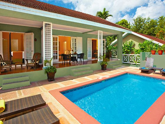 Poolside Villa at Sandals Grande Riviera Beach & Villa Golf Resort