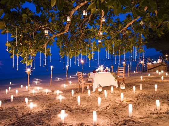 The Sarojin Private Dining on the Beach