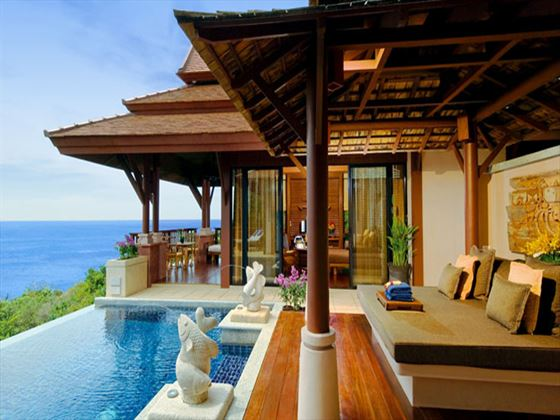 Private pool at Pimalai Resort & Spa
