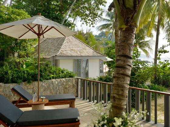 Private terrace at The Surin Phuket