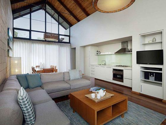 Pullman Resort Bunker Bay Two-Bedroom Villa living room