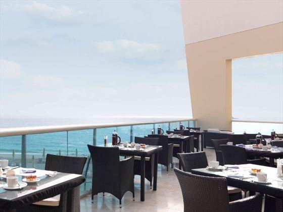 Breeze restaurant terrace