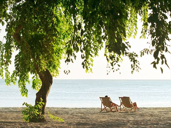 Relaxing honeymoon moments, The Ravenala Attitude