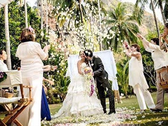 Beautiful weddings at Rayavadee Krabi