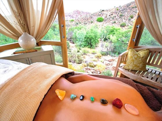 Relaxation retreat at Sanbona Wildlife Reserve