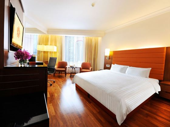 Deluxe Room at Rembrandt Hotel & Suites