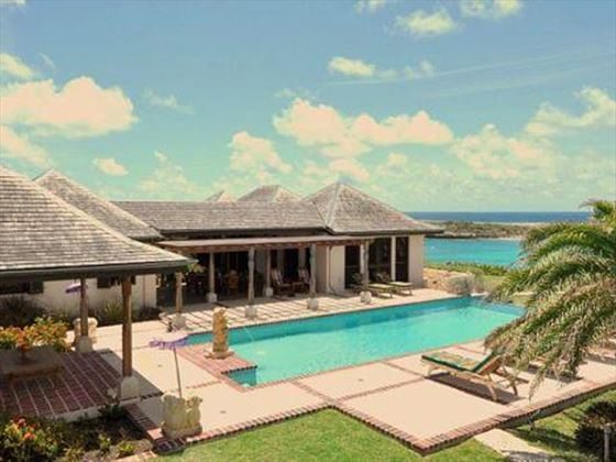 Villa Kulula with its lovely private pool