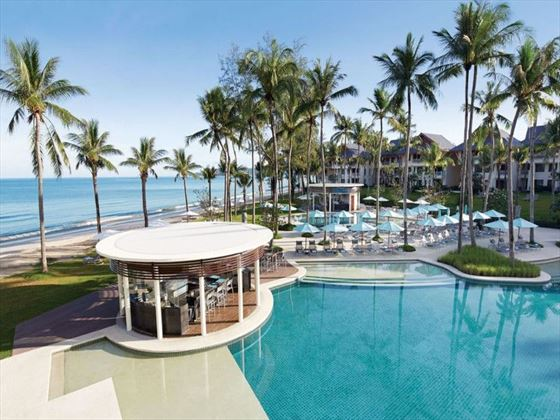 Edgewater restaurant at Outrigger Laguna Phuket Beach Resort