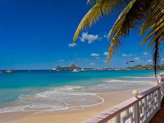 St Lucian by Rex Resorts beach