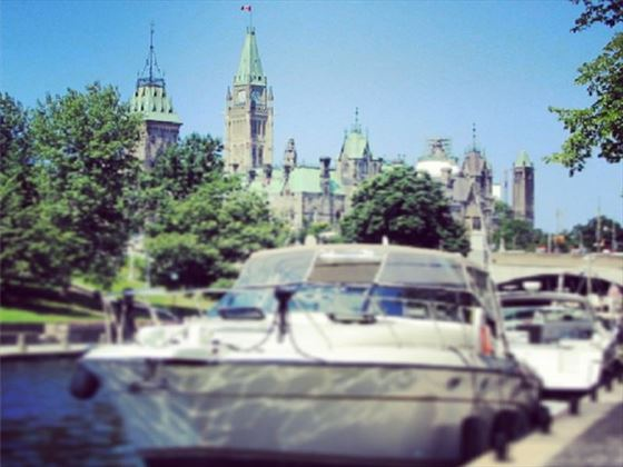 Rideau Canal and Ottawa Parliament Buildings