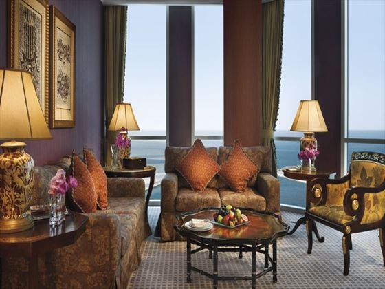 Ritz Carlton Executive Suite living room