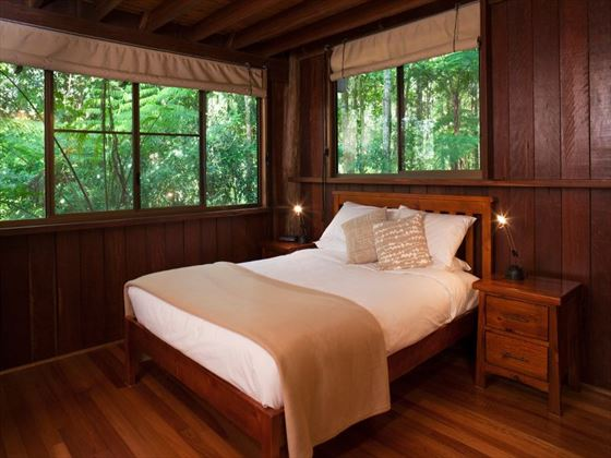 Rose Gums Wilderness Retreat bedroom