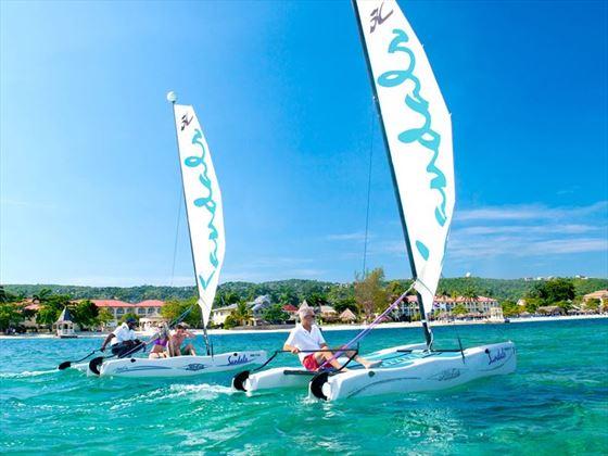 Sailing at Sandals Montego Bay