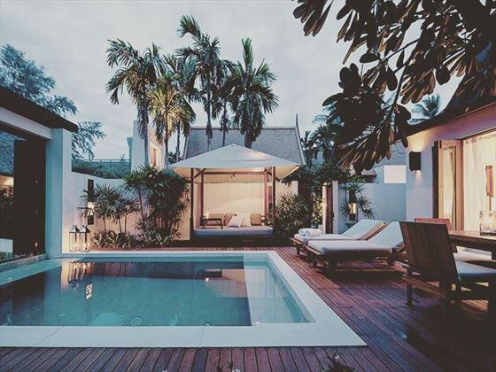 SALA Samui Resort & Spa by nightfall