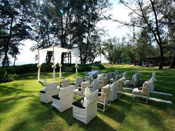 Garden wedding at SALA Phuket Resort & Spa