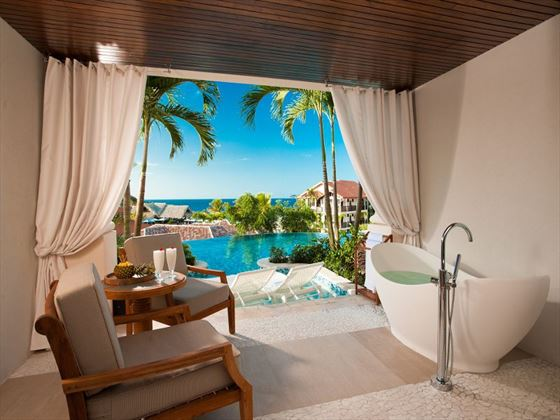 Sandals LaSource Grenada Italian swim-up suite