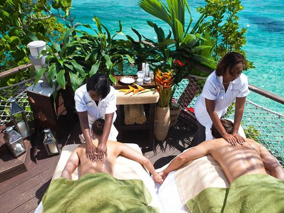 Sandals Ochi couples' massage