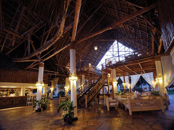 Sandies Tropical Village reception