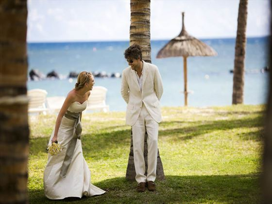 Bride & Groom at Sands Resort & Spa