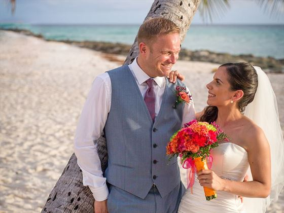 Wedded bliss at the Sea Breeze Beach hotel