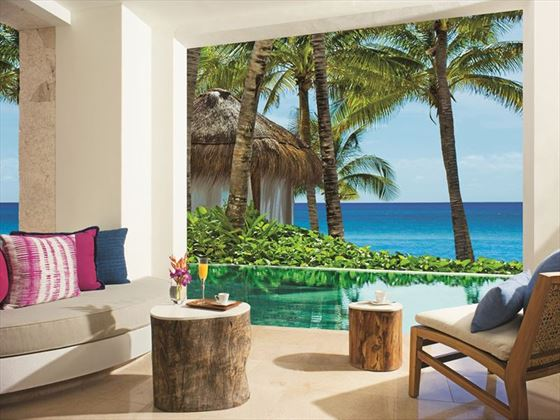 Preferred Club Junior Suite Swim Out terrace