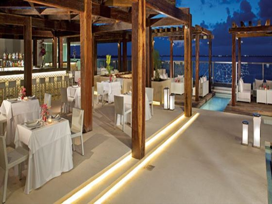 Secrets The Vine beachside restaurant