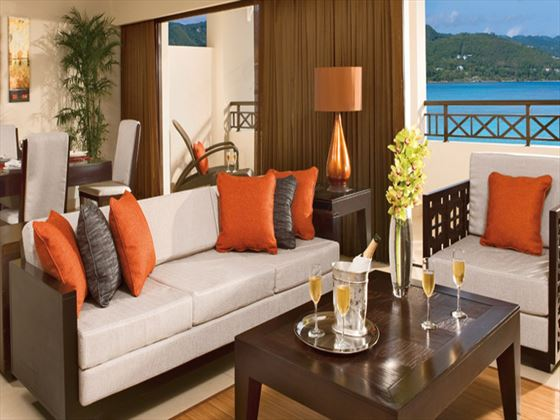 Secrets Wild Orchid living room area
