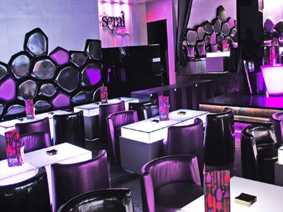 Serai nightclub at Dubai Marine Beach Resort and Spa