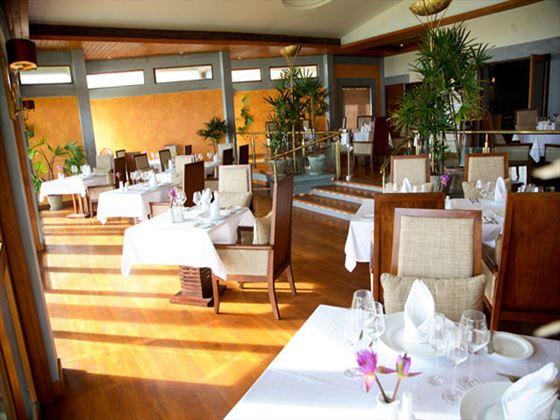 Serene Pavilions restaurant