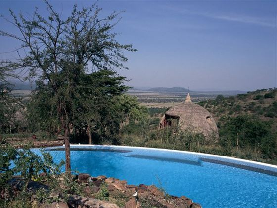 Serengeti Serena Lodge pool