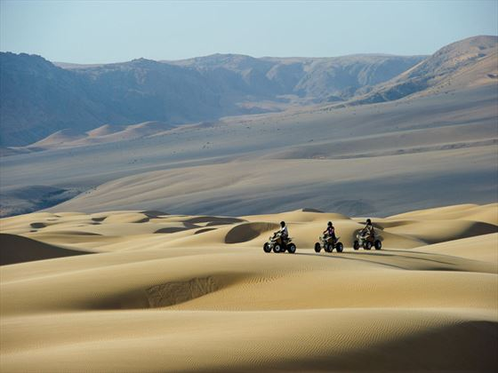 Serra Cafema Camp quad biking