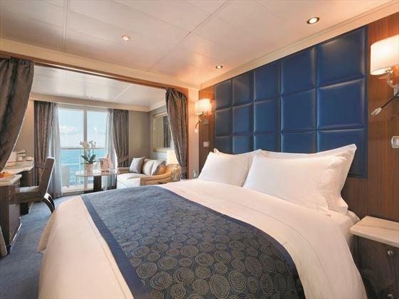 Seven Seas Navigator, Deluxe Veranda suite