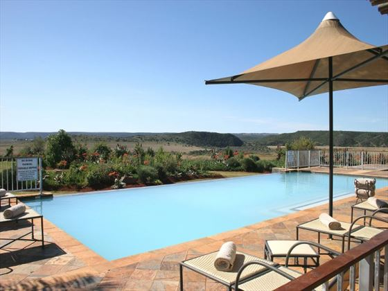 Shamwari Private Game Reserve Riverdene pool