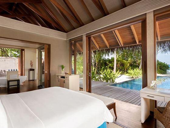 Beach Villa at Shangri-La Villingili Resort