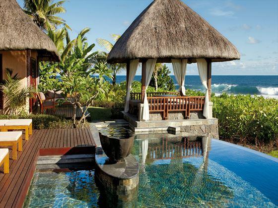 Shanti Maurice A Nira Resort Luxury Suite Villa pool